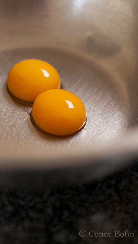 Egg yokes