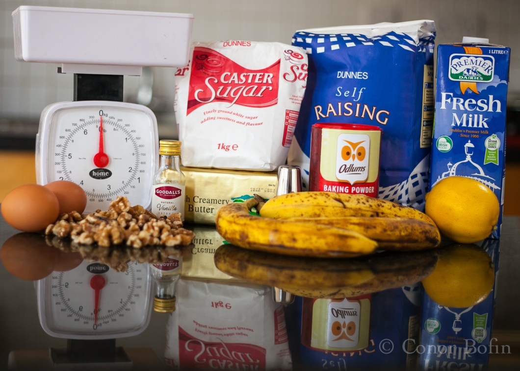 The perfect set of ingredients for perfect Banana Bread?