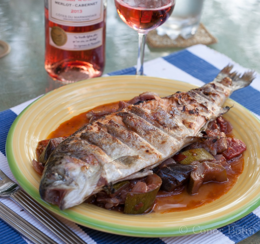Herbed Stuffed Trout with Ratatouille (11 of 11)