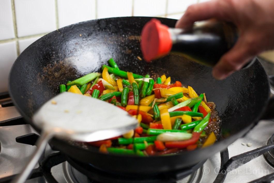 Look at those wonderful vegetable colours.