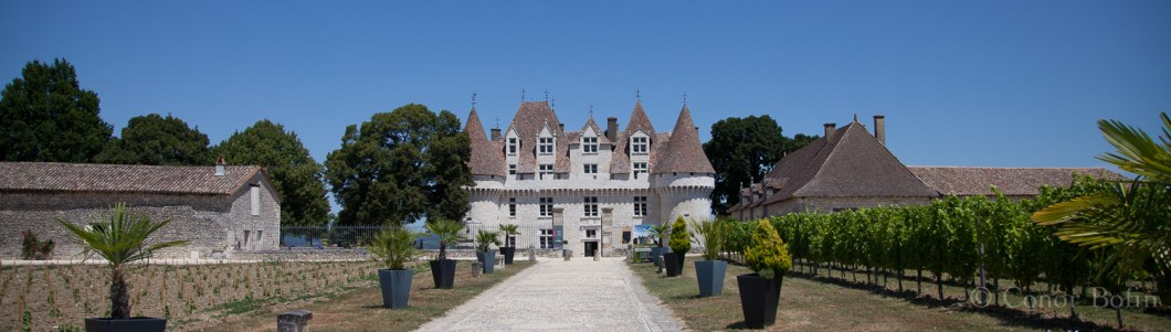 A very impressive chateau. An equally impressive wine.