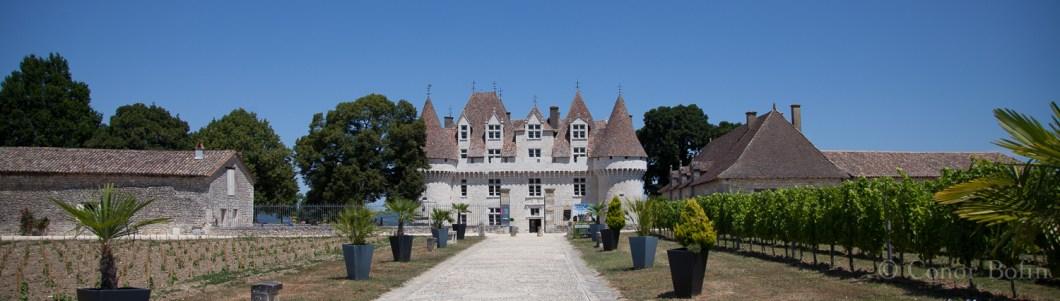 A very impressive chateau. An equally impressive wine.