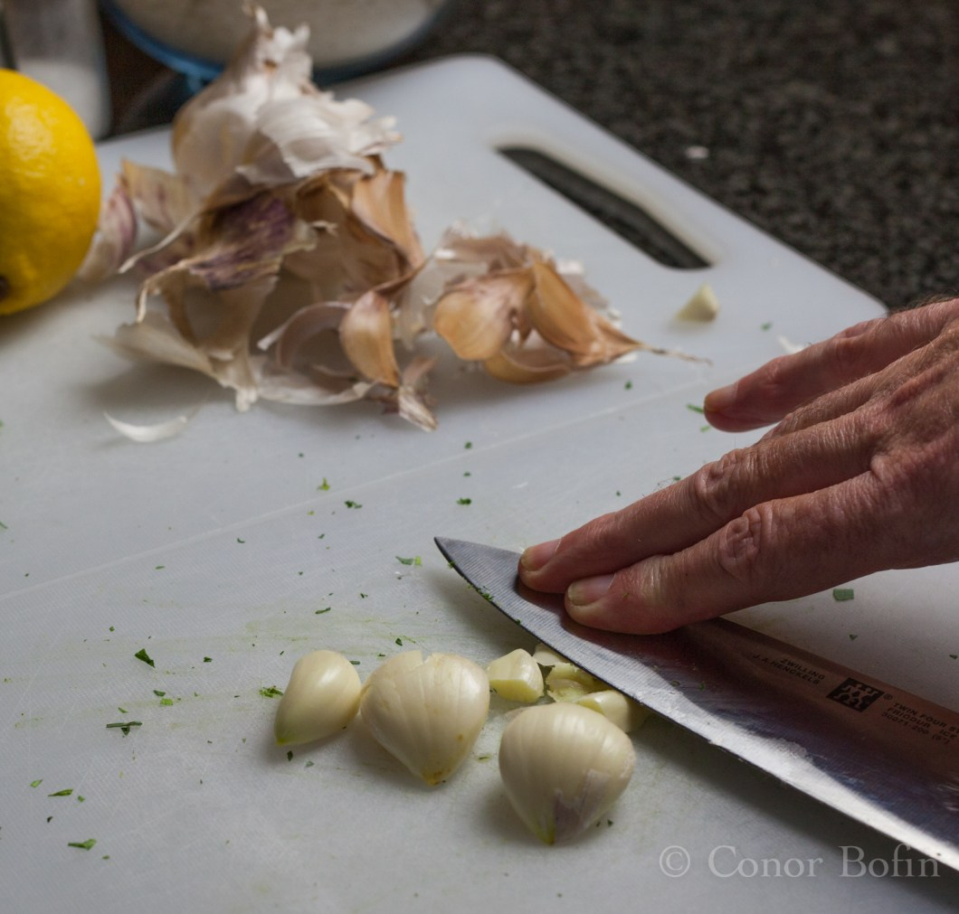 The garlic really needs to be made into a paste. That way, it infuses better.