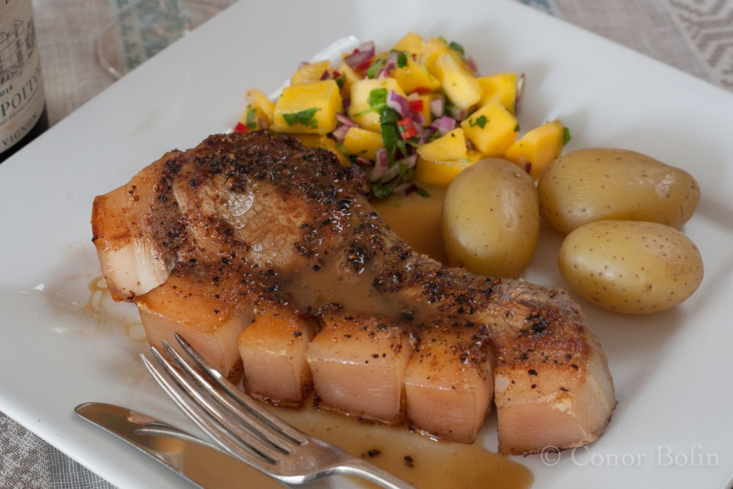 Pork chops and mango salsa (16 of 16)