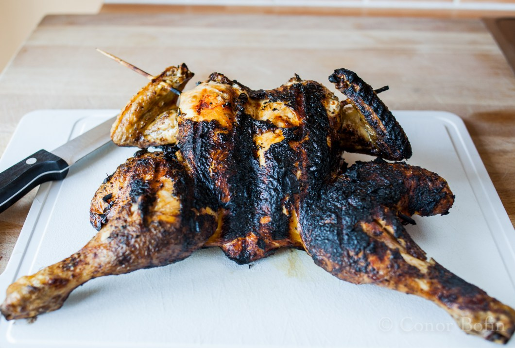 Barbecue Chichen with fresh herbs (9 of 10)