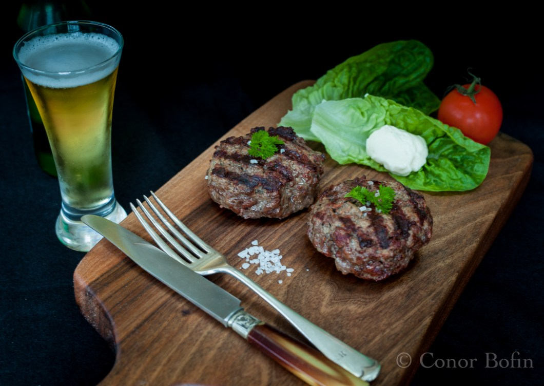Glorious beef burgers served simply, eaten quickly.