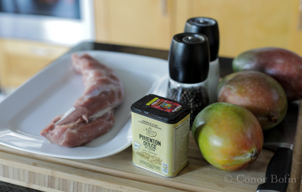 Sous Vide Pork with Mango (1 of 9)