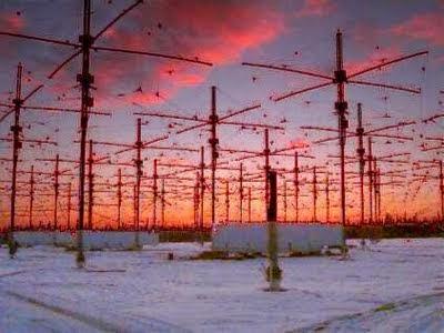 Antennte Haarp in Alaska