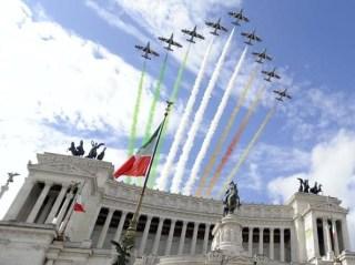 parata frecce tricolori