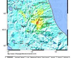 Terremoto nella notte in Appennino centrale – RELAZIONE INGV