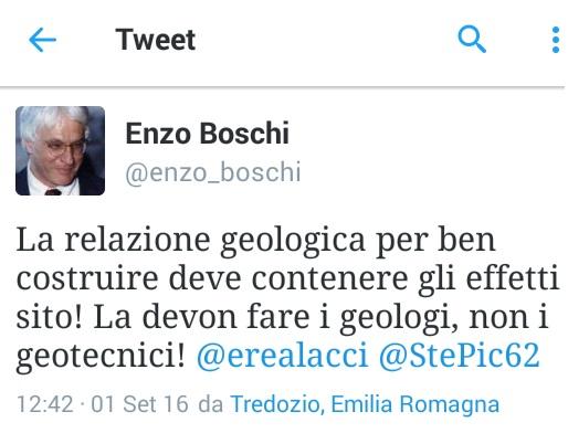 tweet enzo boschi del 1 sett 2016