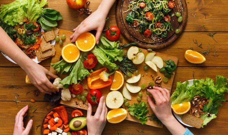 El objetivo es comer sano