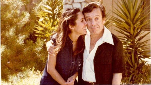Florinda Mesa y Roberto Gómez Bolaños (Chespirito)
