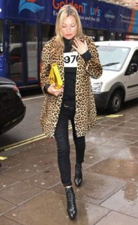 Kate Moss Leopard Print