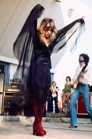Stevie nicks dark boho