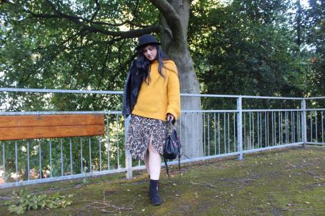 Leopard print dress 11