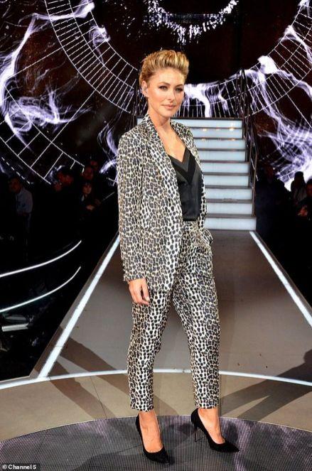 Leopard print Suit - Celeb