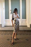 Floral Skirt Summer