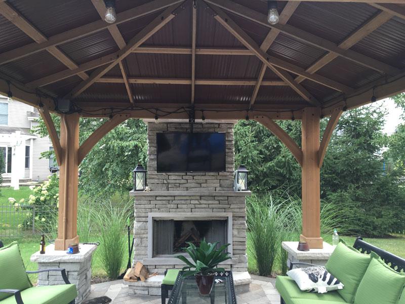 outdoor kitchens pergolas arbors