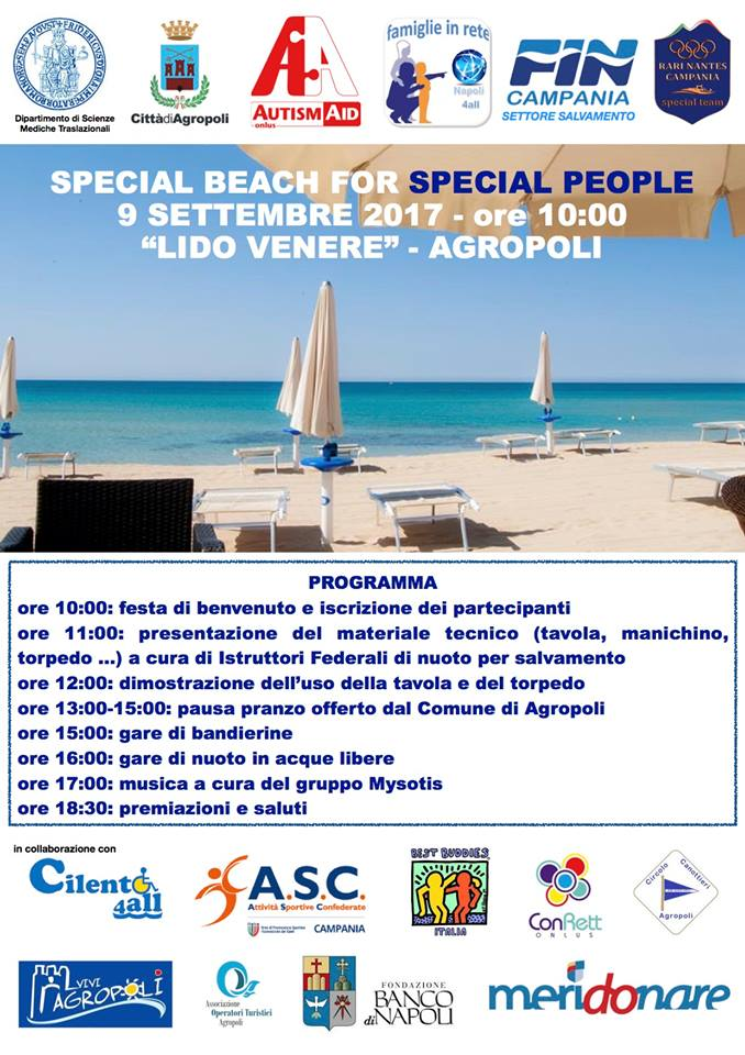SPECIAL BEACH FOR SPECIAL PEOPLE
