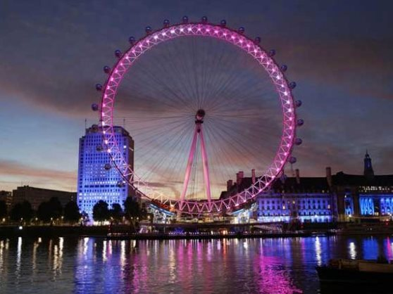 ondon Eye no Reino Unido