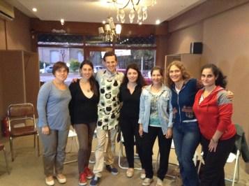 Taller grupal en Campana, Prov. de Buenos Aires
