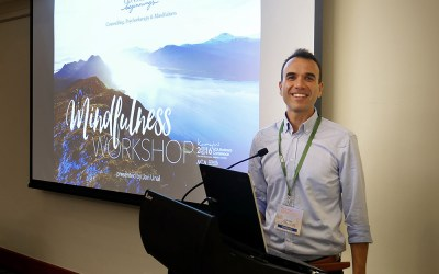 Mindfulness Workshop at the National Conference of Australian Counselling Association