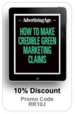 Credible Green Marketing Claims