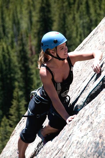 Ramona Bruland Rock Climbing Conscious Connection Magazine