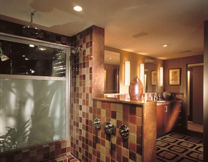 Sustainable Lighting Shower