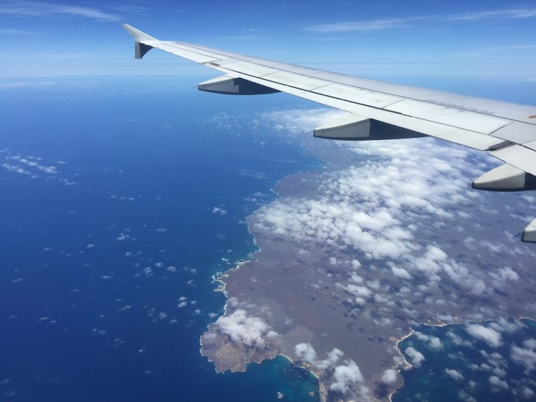Galapagos Islands Flight