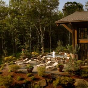 Woodloch Spa Deck