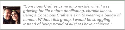 Conscious Crafties Review Laura Mc