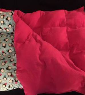 Custom weighted blankets (3-7lbs)