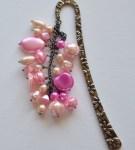 handmade pink bookmark