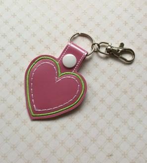 Conscious Crafties Heart Keyring