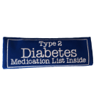 Diabetes Type 2 seatbelt cover