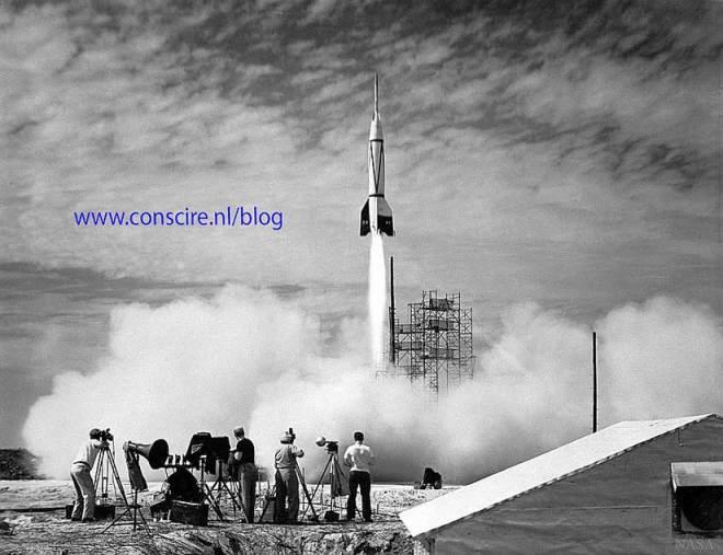 lancering van raket, lancering van blog