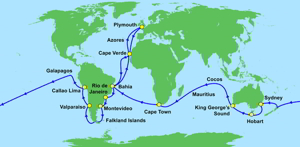 Darwin's wereldreis