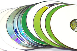 Image de CD recyclé