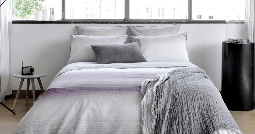parure de lit haut de gamme fabriqué en France