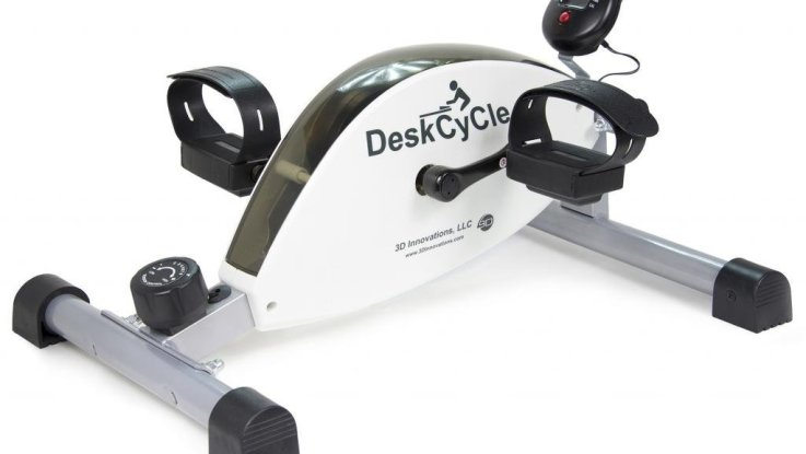 Appareil à pédales Whisper Quiet Magnetic DeskCycle avant