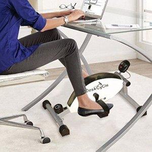 Appareil à pédales Whisper Quiet Magnetic DeskCycle avantage