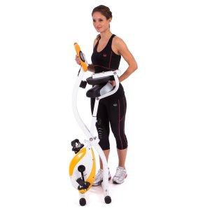 Ultrasport Vélo d'appartement pliable utilisation