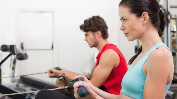 Perdre du poids rameur