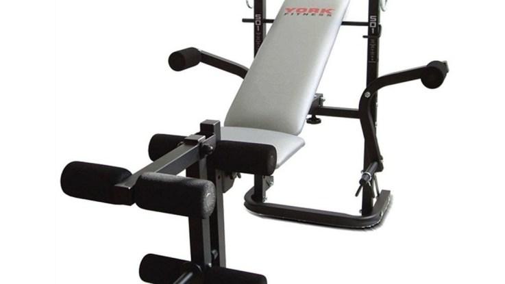 banc york fitness b501 ecartes