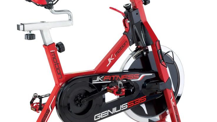 velo appartement jk fitness genius 535 speed bike