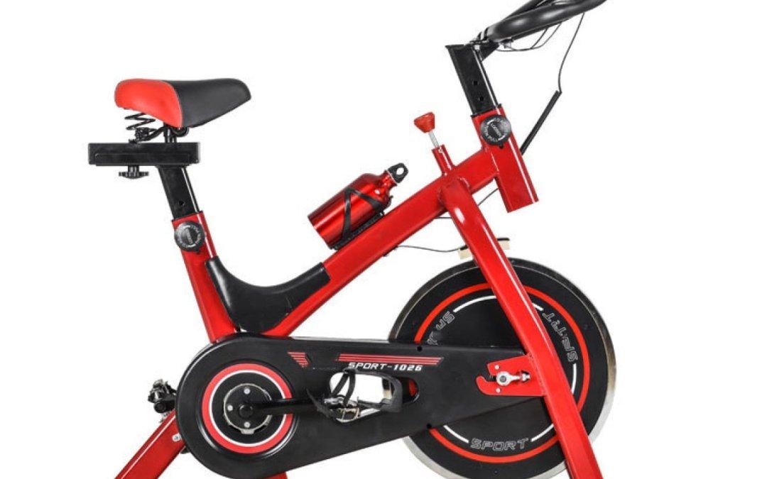 Test du vélo d'appartement Exercice Vélo Spinning Vélo Ultra – silencieux Usage à La Maison équipement Poids – réduction Vélo D'exercice 98 * 49 * 103 Cm de la marque Wang
