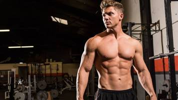 séduisant avec le fitness