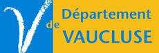 Ancien logo du Conseil Général Vaucluse 84 avant qu'il change de nom